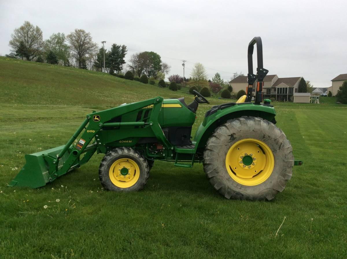 Small Utility Wagons For Tractors : John deere m compact utility tractor