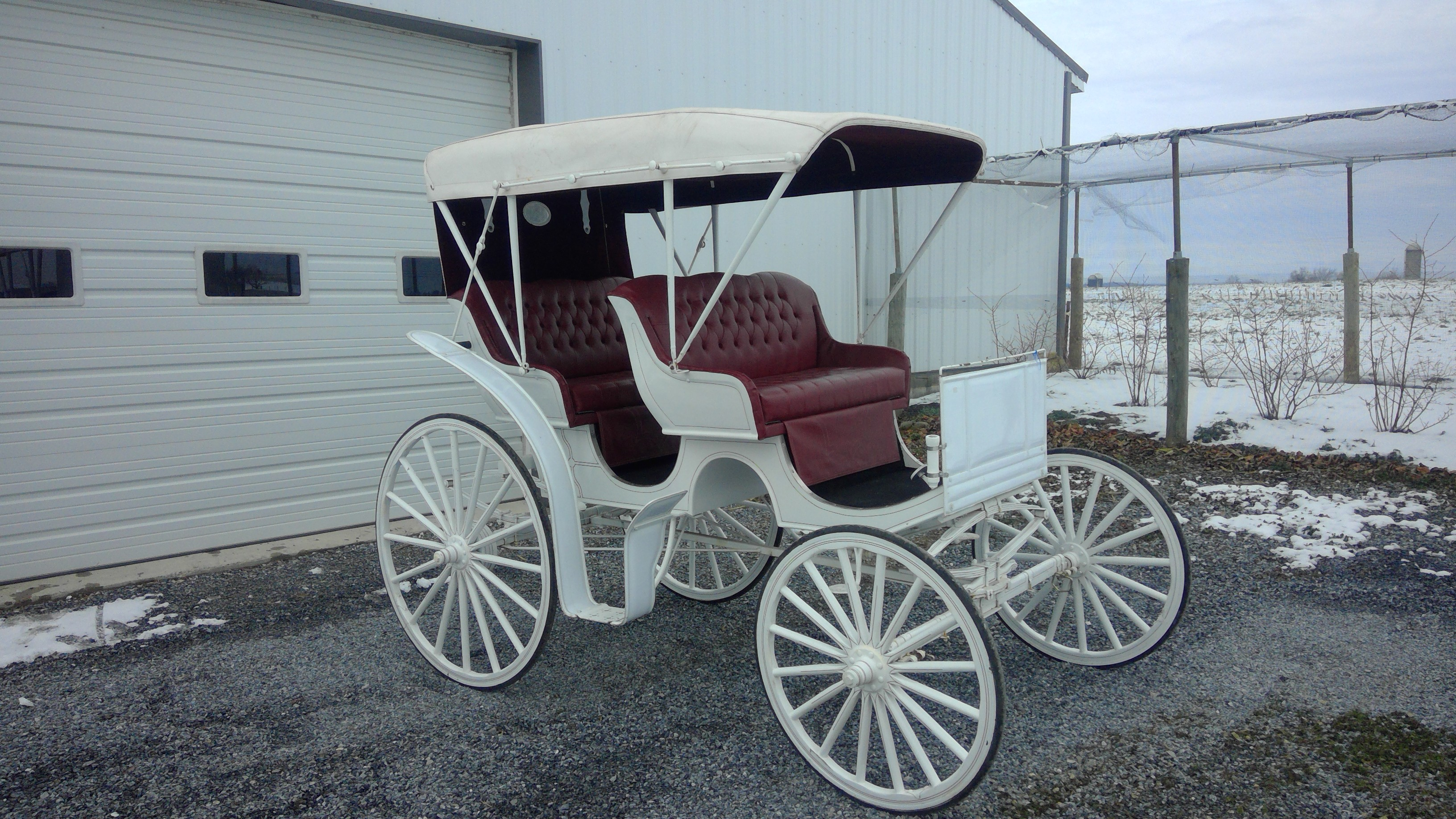 Auto top surry carriage 355 horse drawn vehicles for Car carriage