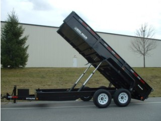 2017 Bri-Mar COMMERCIAL LOW PROFILE HEAVY DUTY 2 Trailer
