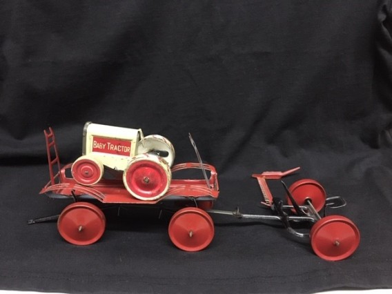 Antique Vintage Metal FARM TOY - Early 1900's ANIMATE