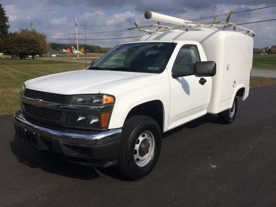 2016 CHEVROLET Colorado utility/box Truck