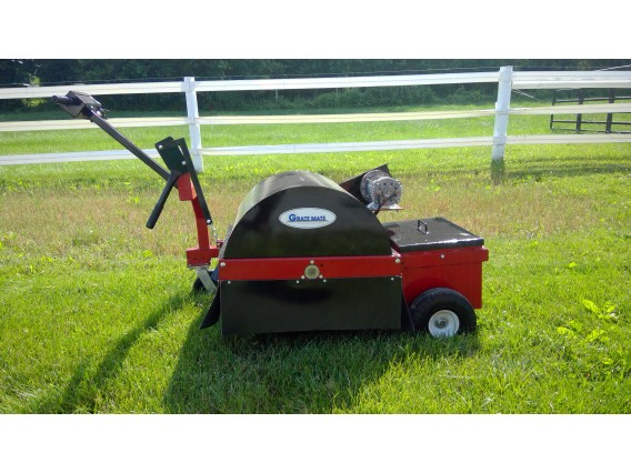 GrateMate Power Gutter Grate Sweeper