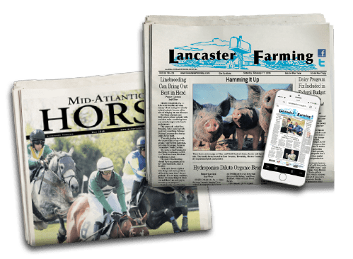 Pictures of both Lancaster Farming and Mid-Atlantic Horse